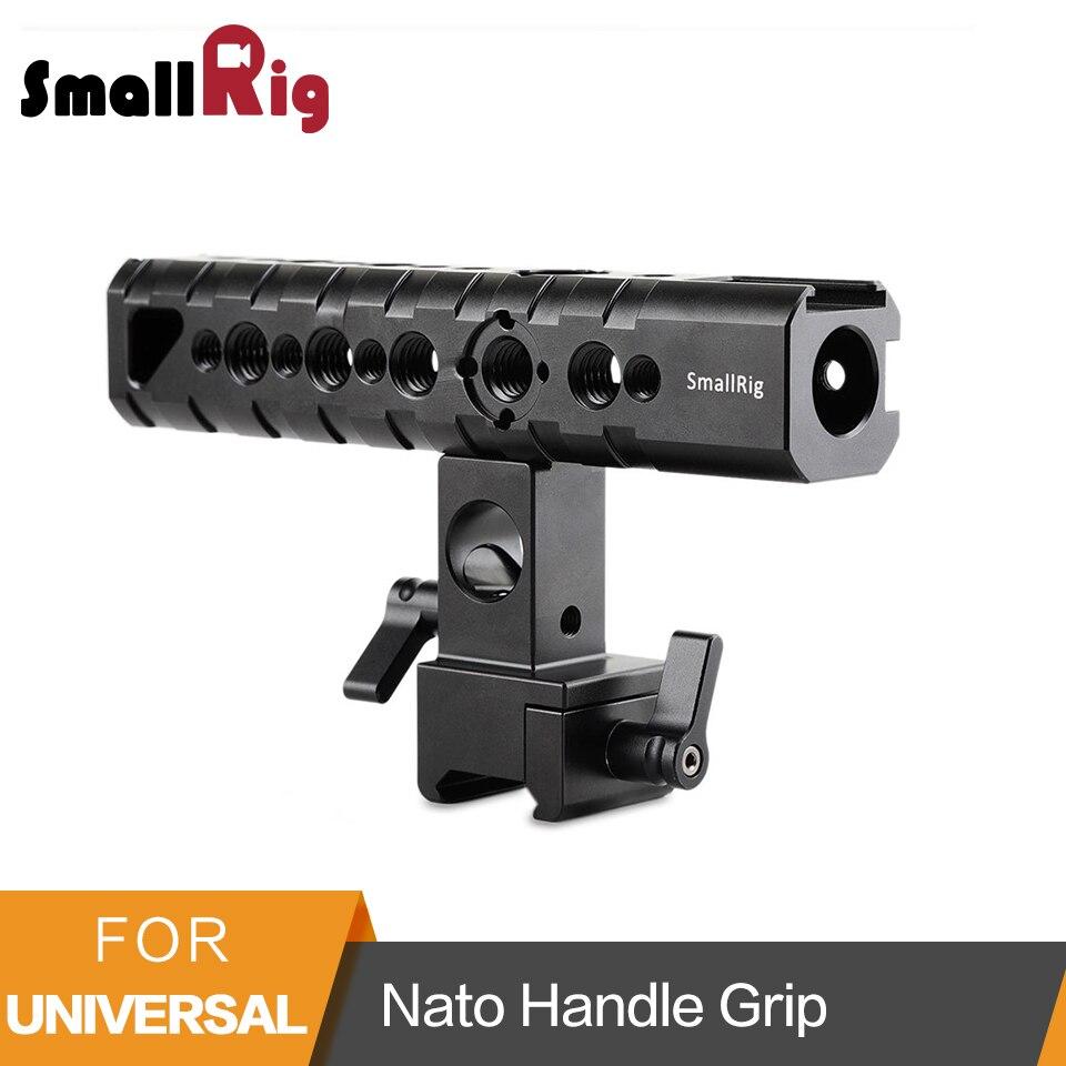 SmallRig Top Handle Camera Cheese Handle Nato Handle Grip QR Top Handle for Camera Cage EVF