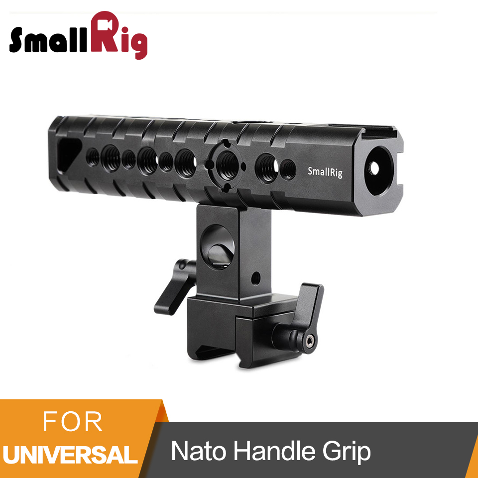 SmallRig Top Handle Camera Cheese Handle Nato Handle Grip QR Top Handle for Camera Cage EVF Mount Microphone Shock Mount -1649 цена