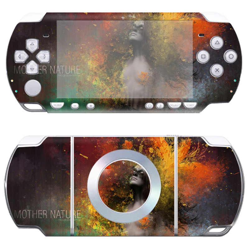 Livraison directe autocollant de peau pour Sony PSP 2000 vinyle autocollants couverture # TN-PP2000-410