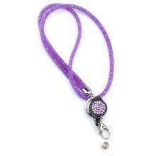 Сетчатый шнурок офисное ожерелье брелок для ключей Значки для сотовых телефонов Хрустальные подвесные веревки для мобильного телефона универсальный держатель камеры