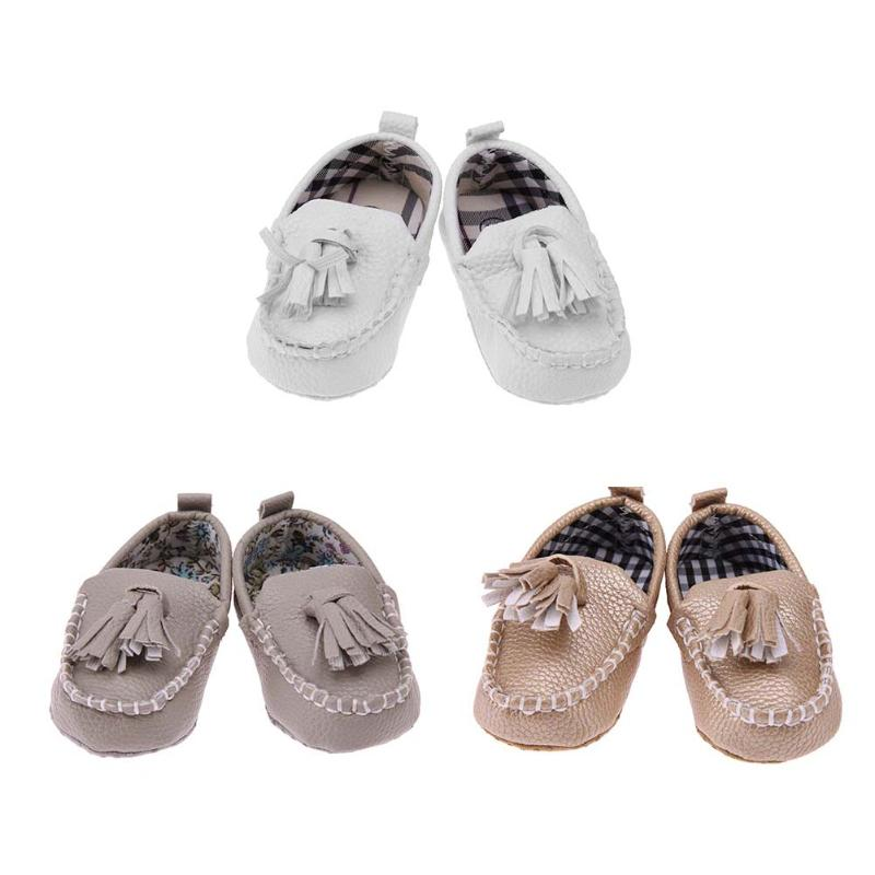 Multicolor Baby First Walkers Boy Girl Toddler Prewalker Shoes Infant Anti-skid Tassel Pendant Shoes Soft PU Leather Sneakers