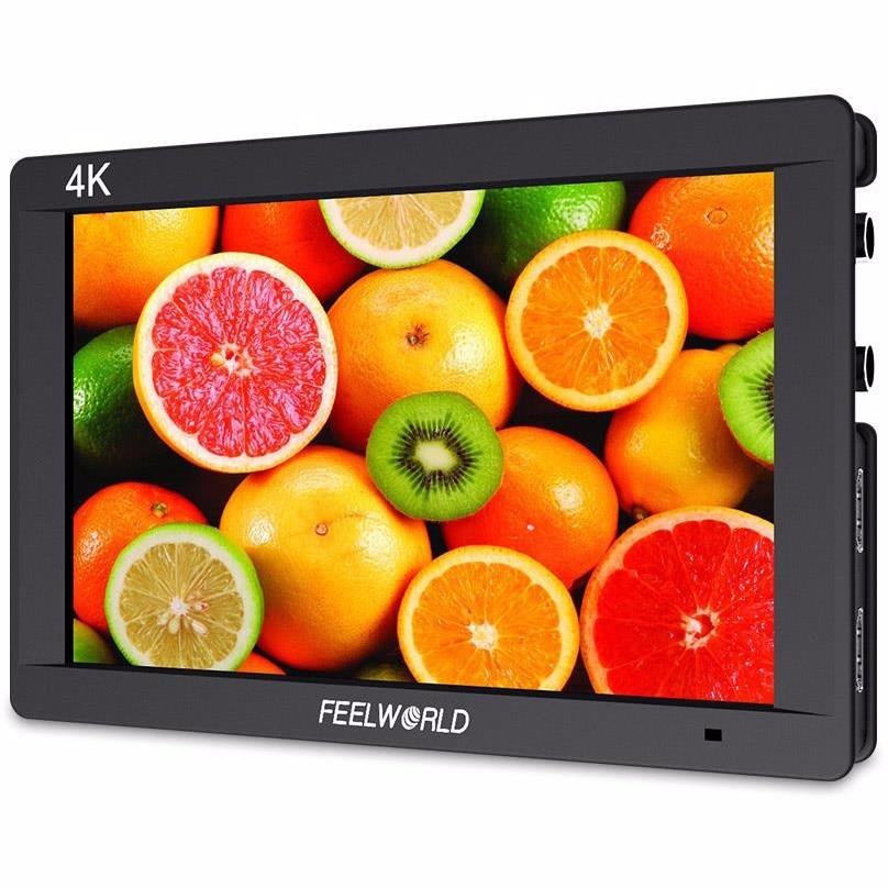 FW703 7 Inch 3G-SDI 4K HDMI Monitor 7 IPS 1920x1200 Full HD Camera Field Top Monitor for Canon Nikon Sony DSLR Camera Video
