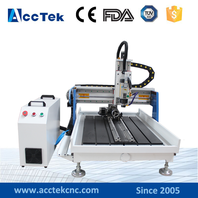 4 axis mini stone engraving machine,cnc router 6090 for wood,granite,plastic,glass,marble,leather,mdf,pvc acctek hot sale cnc router machine akg6090 6012 for wood stone metal mini cnc router engraving machine for copper