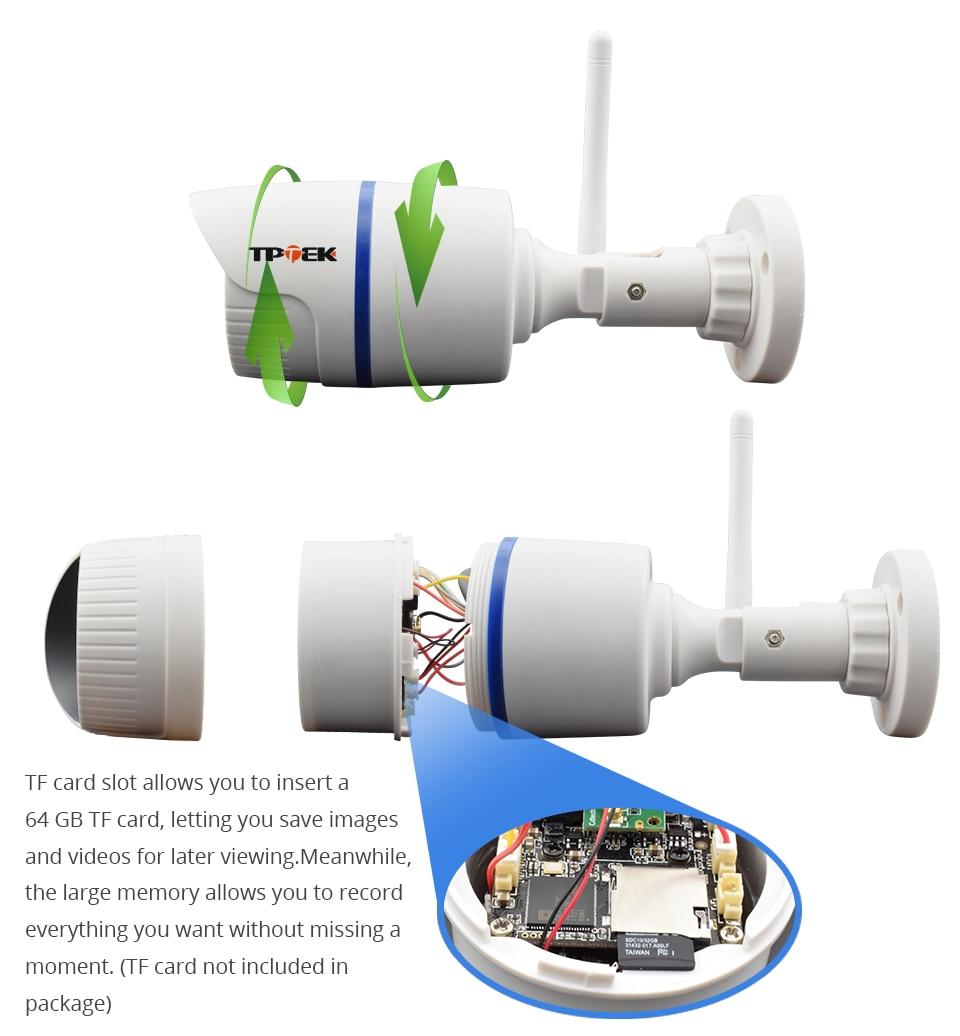 HD 1080P IP Camera Outdoor WiFi Home Security Camera 720P 3MP Wireless Surveillance Wi Fi Bullet Waterproof IP Onvif Camara Cam