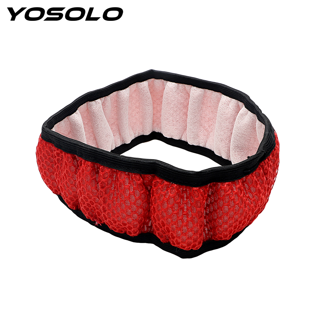 YOSOLO Breathability Handmade Durable Sandwich Fabric Car Steering Wheel Cover Fit For Most Cars 4 Clolors Skidproof Car Styling