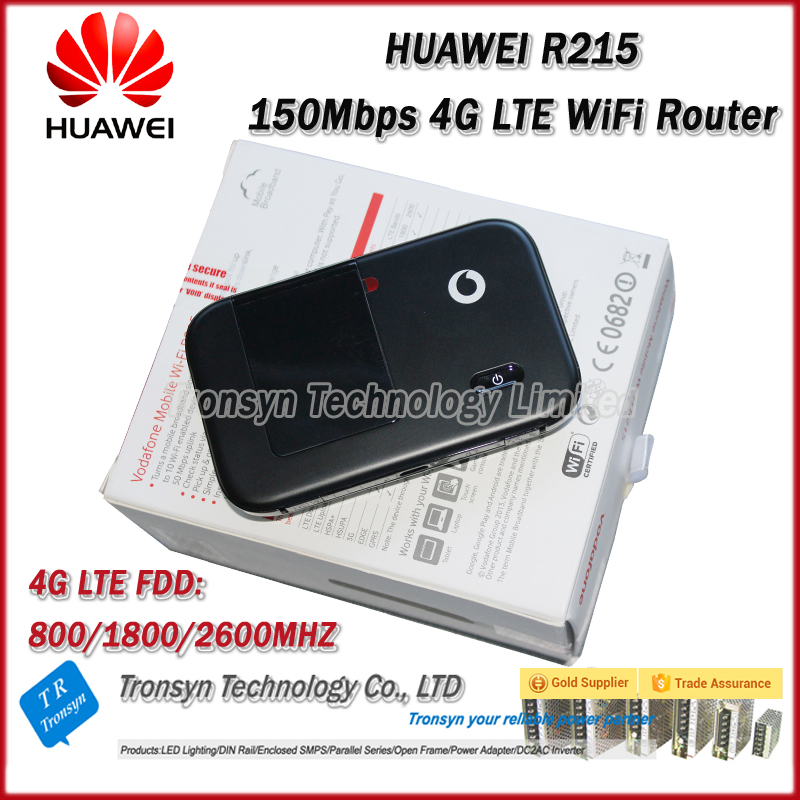 New Original Unlock LTE FDD 150Mbps Vodafone R215 4G LTE WiFi Router Support LTE FDD 800/1800/2600MHz wholesale original unlock lte fdd 150mbps alcatel one touch y855 4g mifi router support lte fdd 800 900 2100 1800 2600mhz