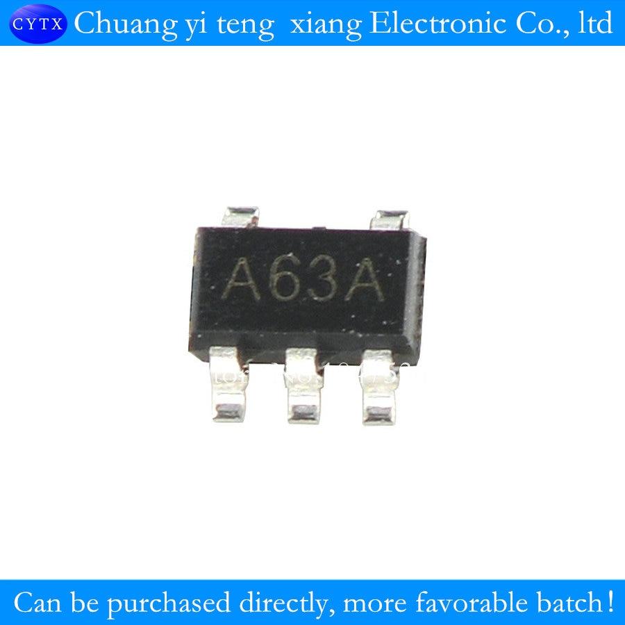 Patch SOT23-5 LM321 LM321MFX A63A operational amplifier with low  consumption 10PCS/LOT