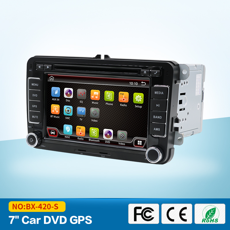 2 Din Android 7.1.1 Car Radio 32GB Stereo for VW JETTA GOLF MK5 MK6 GTI PASSAT B6 POLO SKODA Fabia GPS Navigation USB/SD PC wifi carbon fiber ignition switch decoration modified key hole for skoda octavia fabia yeti vw passat bora polo golf 6 jetta mk5 mk6
