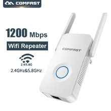 цена на Comfast WR752AC Wireless Router 1200mbps WiFi Repeater 2*3dBi Antenna Range Extender Wifi Extender 802.11b/g/n/ac Repetidor