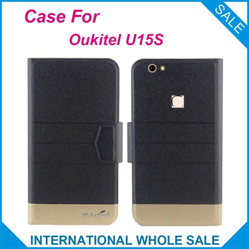 Σούπερ! Oukitel U15S Case 5 Colors Fashion Business Magnetic - Ανταλλακτικά και αξεσουάρ κινητών τηλεφώνων - Φωτογραφία 1