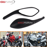 For DUCATI MONSTER 695 696 796 1100 1100S EVO Motorcycle Accessories Rear Side View Mirrors Brand New