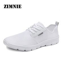 ZIMNIE Unisex Fashion Air Mesh Shoes Couple Lovers Breathabl