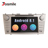 Josmile 2 Din Car Radio GPS Android 8.1 Car DVD Player For Toyota Camry 2007 2008 2009 2010 2011Auroin 2006 Head Unit Navigation