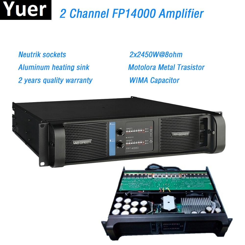 2 Channel FP14000 Amplifier Line Array Amplifier Professional 2x2350W@8ohm fp14000 line array Sound Power Amplifier Line