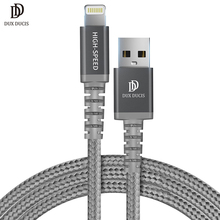 DUX DUCIS USB Cable For iPhone 8 7 7s 6 6s Plus Xs X 5 5sFast Charge Data Sync MFI Cable For iPhone iPad iPod Charger Cable