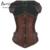 Burvogue sexy overbust corsé steampunk entrenador cintura sexy corsé gótico top adelgaza el corsé para las mujeres de acero del hueso corsés set