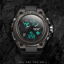 SANDA Sport Military Men Watches Relojes outdoor brand luxury Digital watch Army Electronic LED WristWatches Hombre montre