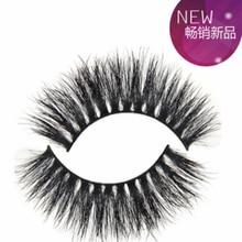Thick eyelashes in 3D stage 100% Real Fake Mink Eyelashes  Professional Makeup  Long False Eye Lashes