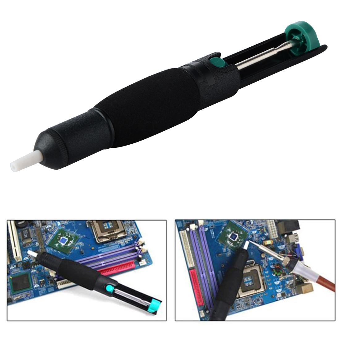 где купить Desoldering Pump 35cm-Hg Suction Tin Welding Tools Solder Sucker Desoldering Pump DIY Hand Tools по лучшей цене