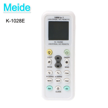 New Universal Wireless K-1028E For CHUNGHOP 1000 in 1 AC Digital LCD Remote Control for Air Conditioner цена и фото