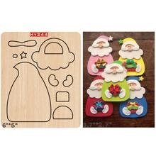 Santa Claus  2019 new wooden mould cutting dies for scrapbooking Thickness/15.8mm
