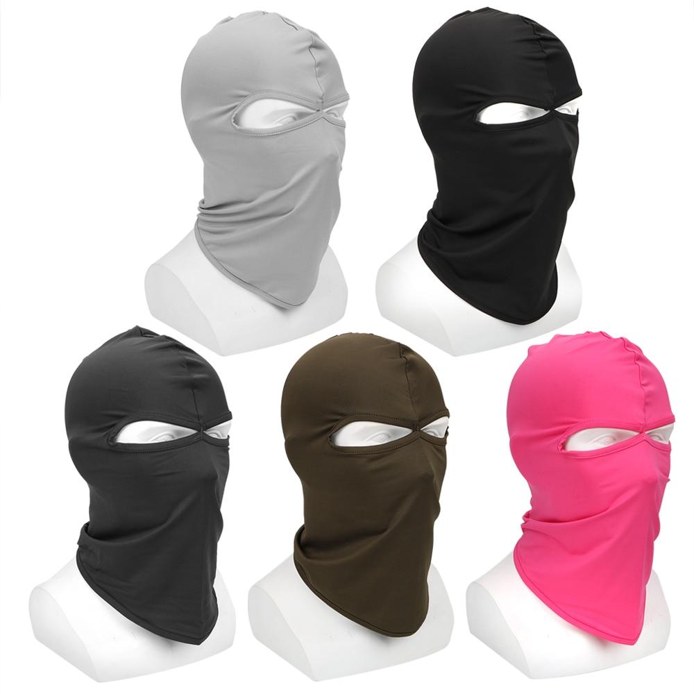 LEEPEE Motorcycle Mask Soft Breathable Headgear Face Shield Hood Balaclava Windproof Sun-protection Dust Protection(China)