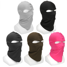 LEEPEE Motorcycle Mask Soft Breathable Headgear Face Shield Hood Balaclava Windproof Sun-protection Dust Protection