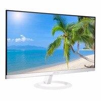 ASUS Ultra slim 23.8 16: 9 Widescreen 1920x1080 Full HD IPS Matt White Computer Monitor Space saving E sport display