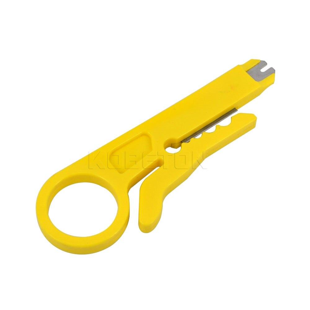 Werkzeuge Mini Stripperinnen Stp Kabel Cutter Telefon Draht Stripper Rotary Anlege Netzwerk Utp Kabel Cutter Punch Unten Draht Werkzeug