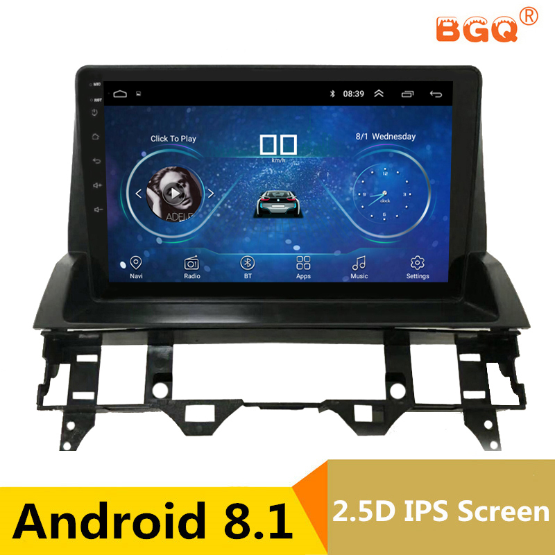 10.1 Android 8.1 Car DVD Player GPS for old Mazda 6 2002 2003 2007 2008 audio car radio stereo navigator with bluetooth wifi