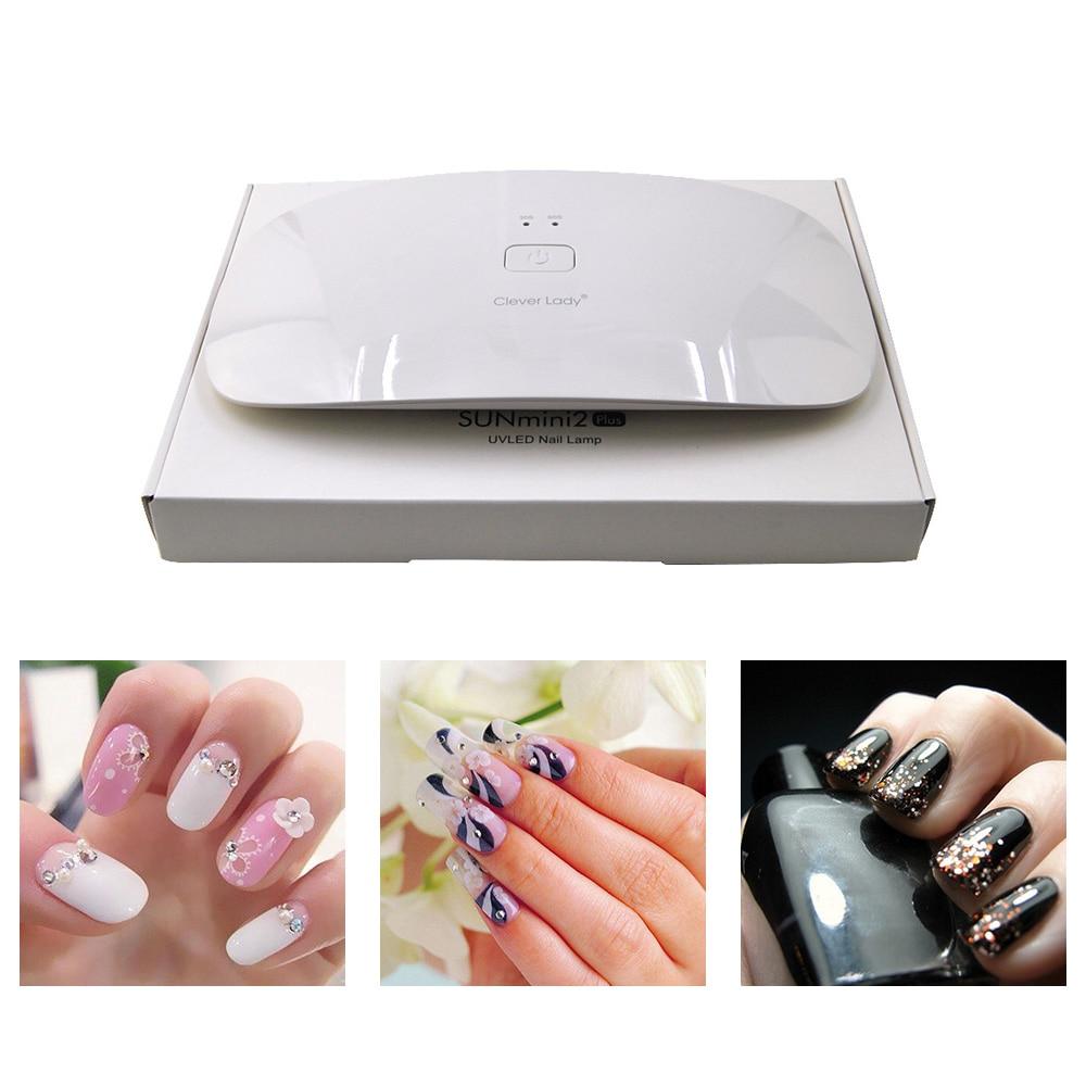 Kaizm 6/24W Mini USB LED UV Lamp Nail Dryer For Curing Nail Dryer Led Mouse Lamp For Nail Gel Polish Dryer Manicure lamp nails