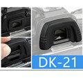 DK-21 DK21 Ocular Ocular Do Visor De Borracha Capa Para NI-KON D50 D70 D70S D80 D90 D100 D200 D300 D600 D7100 Câmera Digital J450