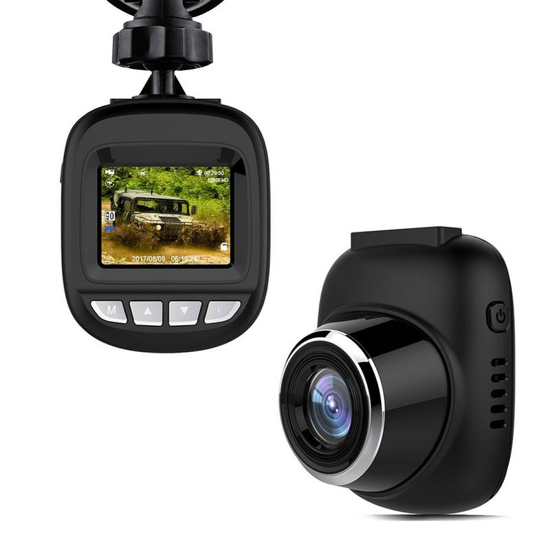 1.5 Pollice Mini Nascosta Hd Registratore Di Guida 1080 P Camara Del Coche De Hd G-sensor Lcd Dello Schermo Dropship 10.5