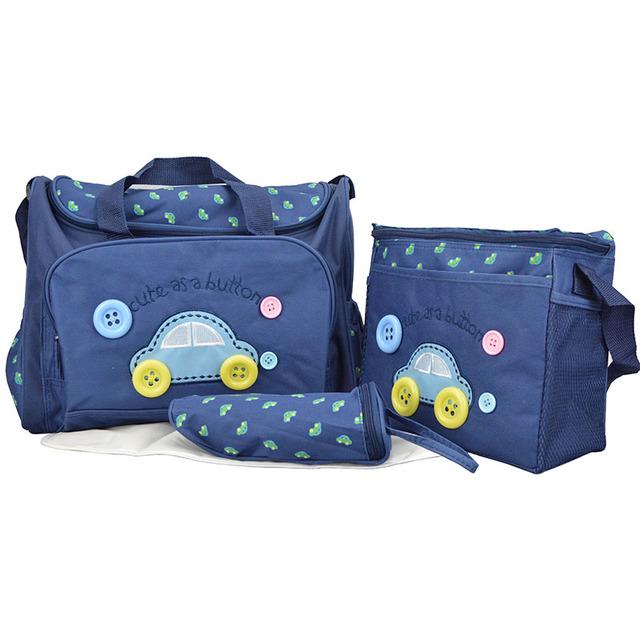 Multifuncional Moda Madre Bolsas de Pañales Del Bebé Del Coche Cochecito Organizador para la Mamá de La Momia Del Bolso de Maternidad Bebé Cuidado Nappy B535