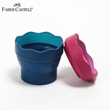 Bgln  1Piece Wash brush bucket  Scalable Telescopic Art Wash Pen Cup Barrel Portable Watercolor Pen Cup Wash Brush Pot