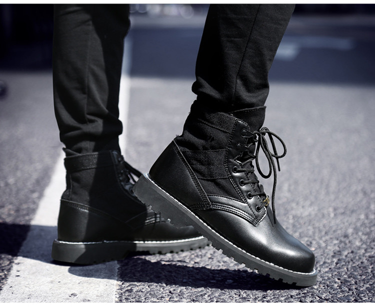 mens boots leather