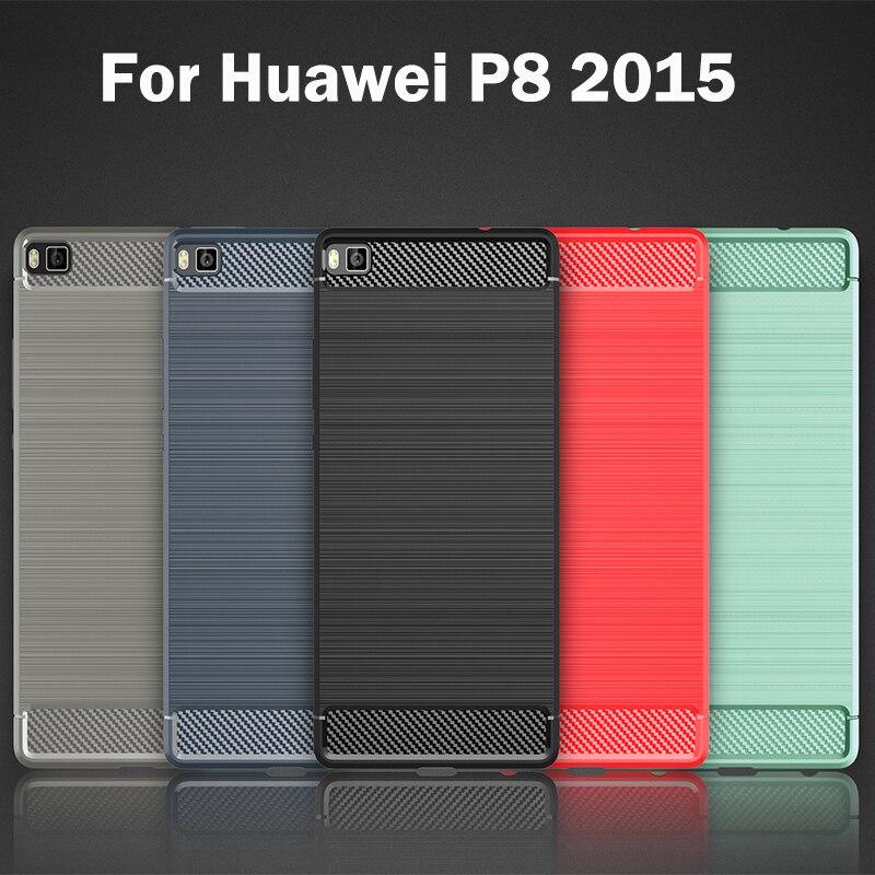 Cas pour Huawei P8 2015 GRA UL10 UL00 L09 L03 L13 TL10 CL10 CL00 logement de téléphone pour Huawei P 8 GRA-L09 Silicon phone Housse