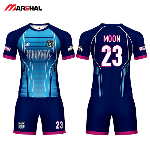 8abd4ae5f Personalized soccer jersey design maker football kits practice uniforms made  on line