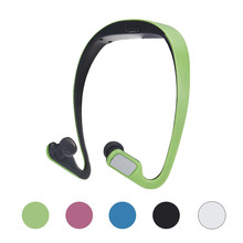 Overmal Portable sporty exterior design Wireless Card FM Stereo Radio Function MP3 Sports Headset Earphone Support 32GB
