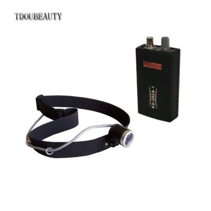 TDOUBEAUTY 3 W LED Dental Headlight Surgical Head Light Lamp KD-202A-1 Free Shipping tdoubeauty m 95 x ray film reader is dentist gift dental oral endoscopes free shipping