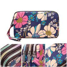 2019 Premium Fashion Women Zipper Wallet Purse Clutch Phone Pouch Card Holder Wristlet Handbag