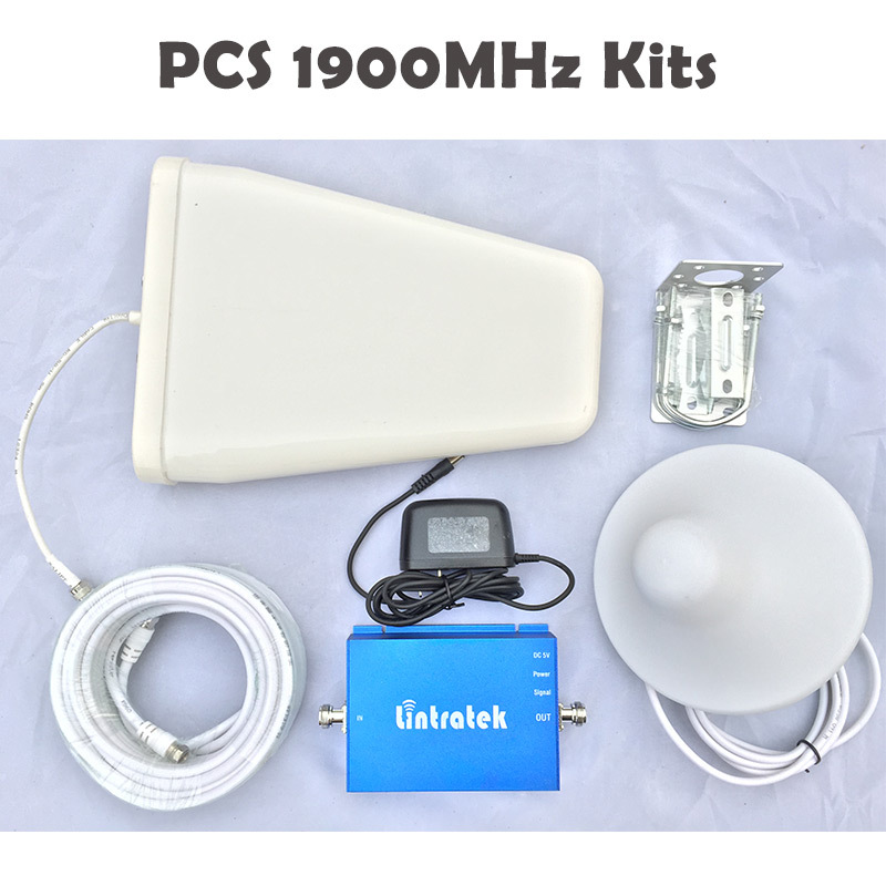 1900Mhz Cell Phone Signal Booster 3G 2G PCS Cellular Signal Amplifier 1900MHz Boost Mobile Cell Phones For Chile Mexico Co #40