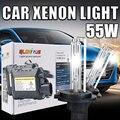 55 Вт D2S Ксеноновые лампы комплект Super Vision Автомобилей Лампы Фар D2S D2C 4300 К 5000 К 6000 К 8000 К 10000 К D2S ксеноновая лампа