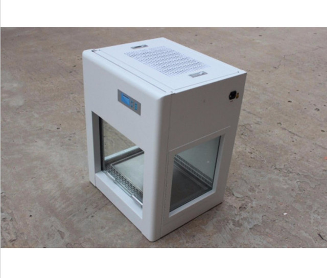 New Led Mini Laminar Flow Cabinet Protect For Operator Environment