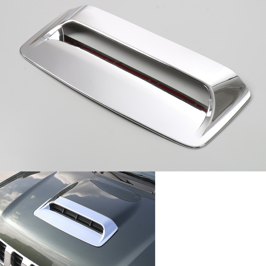 YAQUICKA For Suzuki Jimny 2012 2015 Car Front Hood Air Vent Trim Cover Cap Car covers Styling ABS 3 Colors Available