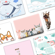 Cartoon Case for MacBook Air Pro Retina 11 12 13 15 Cover for Mac book Air 13 Pro 13 15 inch Case with Touch Bar A1989 2017 2018
