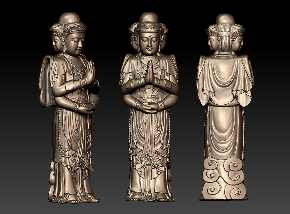 STL 3D Models # NATIVE HUNTER 3 # for CNC 3D Printer Engraver Carving Aspire