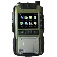 КПК ОС Linux промышленная Водонепроницаемость большой телефон Улучшенный терминал для работников правопорядка Wi Fi Аудио Видео Трансмиссия м