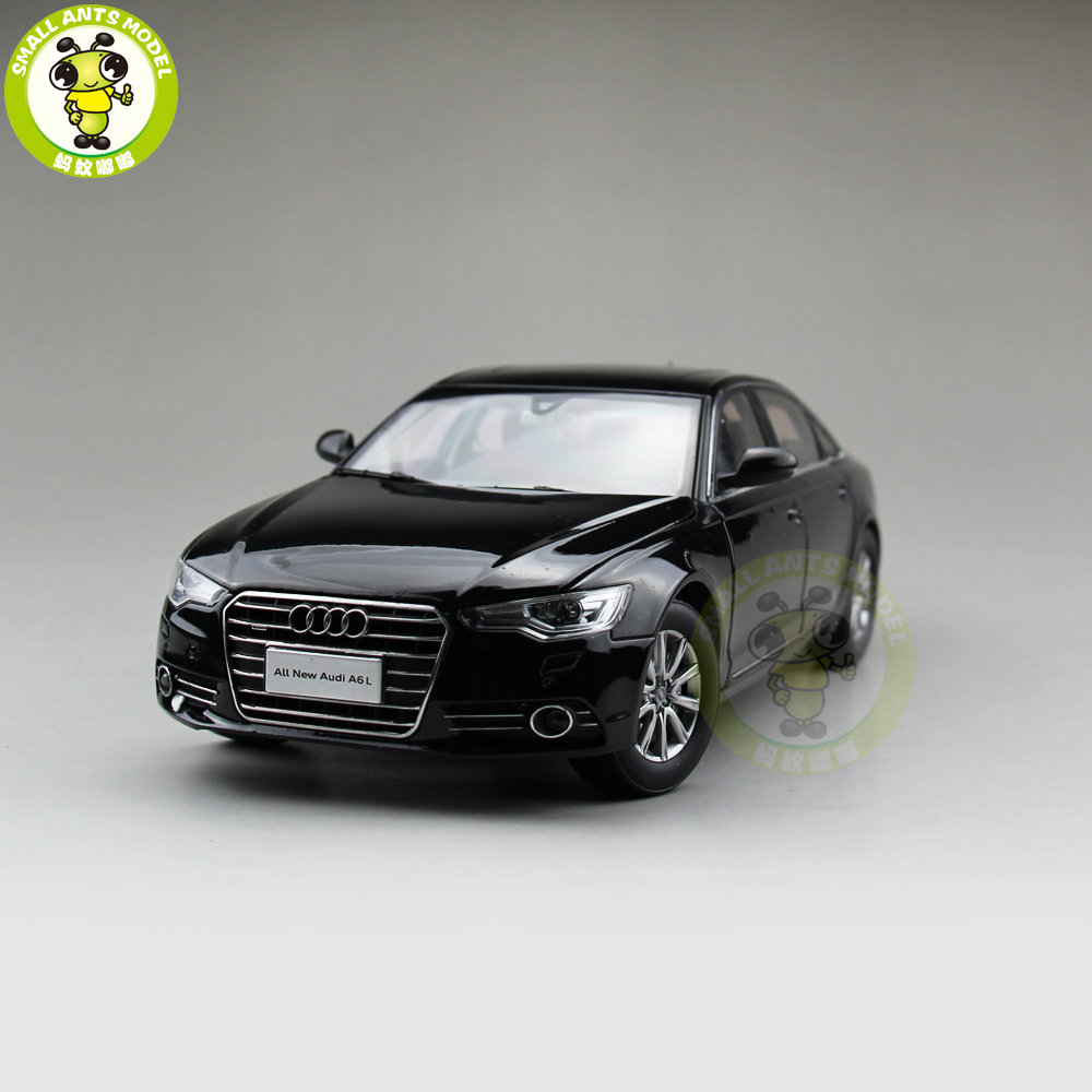 1 18 Audi A6 A6L 2012 Diecast Car Model Toy Gift Collection Black