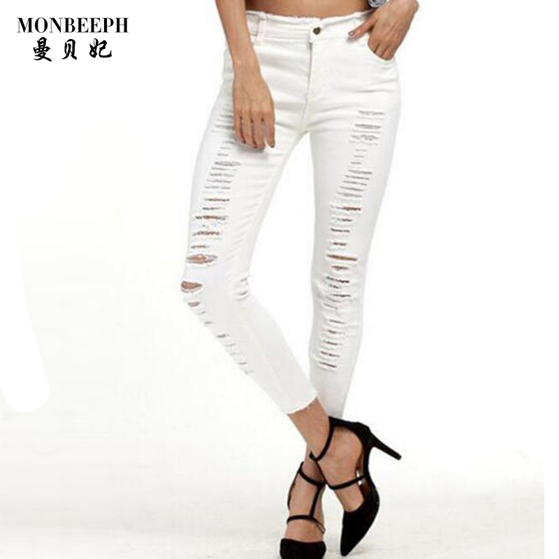 2017 summer new Jeans For Women 2017 Rolling Up Woman ...